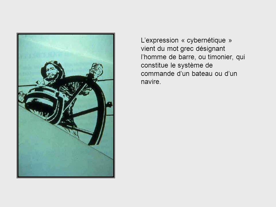 …aux galaxies et porte une attention particulière aux machines, aux animaux et aux sociétés. What Cybernetics Looks at
