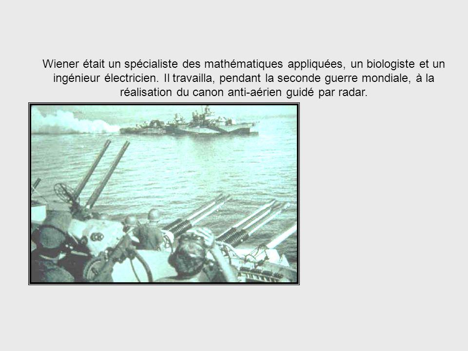 Ce mot fut forgé en 1948 et défini comme science par Norbert Wiener, né en 1894 (Etats-Unis), né en 1894 et décédé en 1964. Il devint célèbre sous le