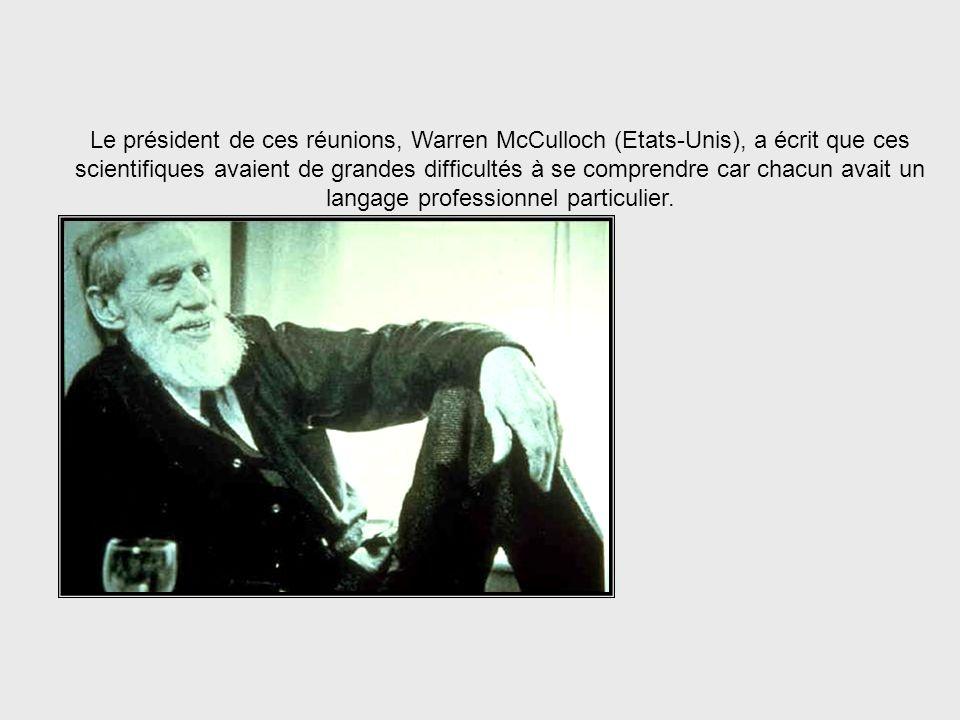 Les réunions de la Fondation Macy 1946-1953 De 1946 à 1953 il y eut une série de réunions consacrées aux boucles de rétroaction et à la causalité circ