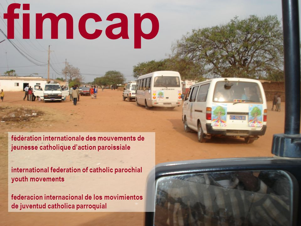 fimcap fédération internationale des mouvements de jeunesse catholique daction paroissiale international federation of catholic parochial youth moveme