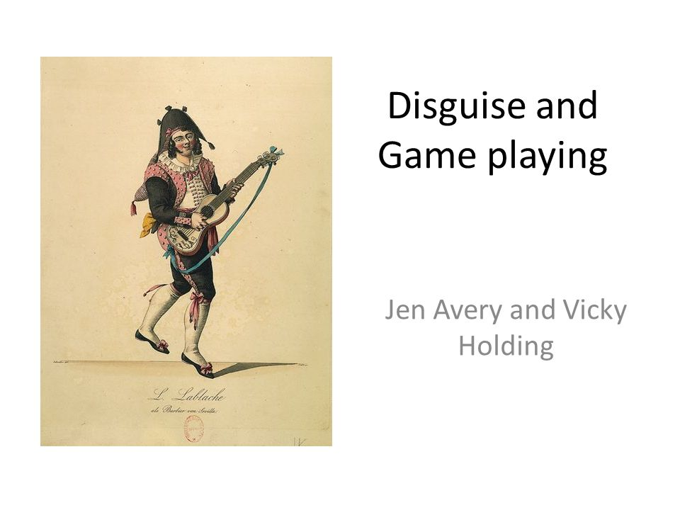 Count Almavivas Games Alma / Viva – Nourishing / Life Disguise – a way of distancing himself from his true identity Deliberately misleading Bartholo, and Rosine to a point Testing Rosines love Adopting different personas to tie in with his characters Joins in with the letter giving The convincing of Bazile