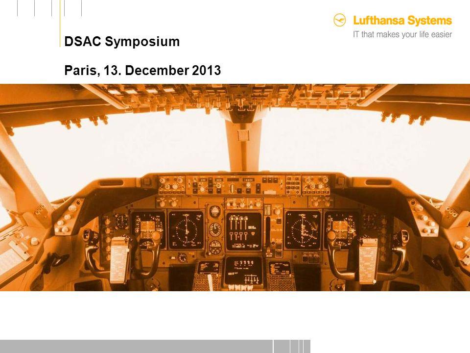 DSAC Symposium Paris, 13. December 2013