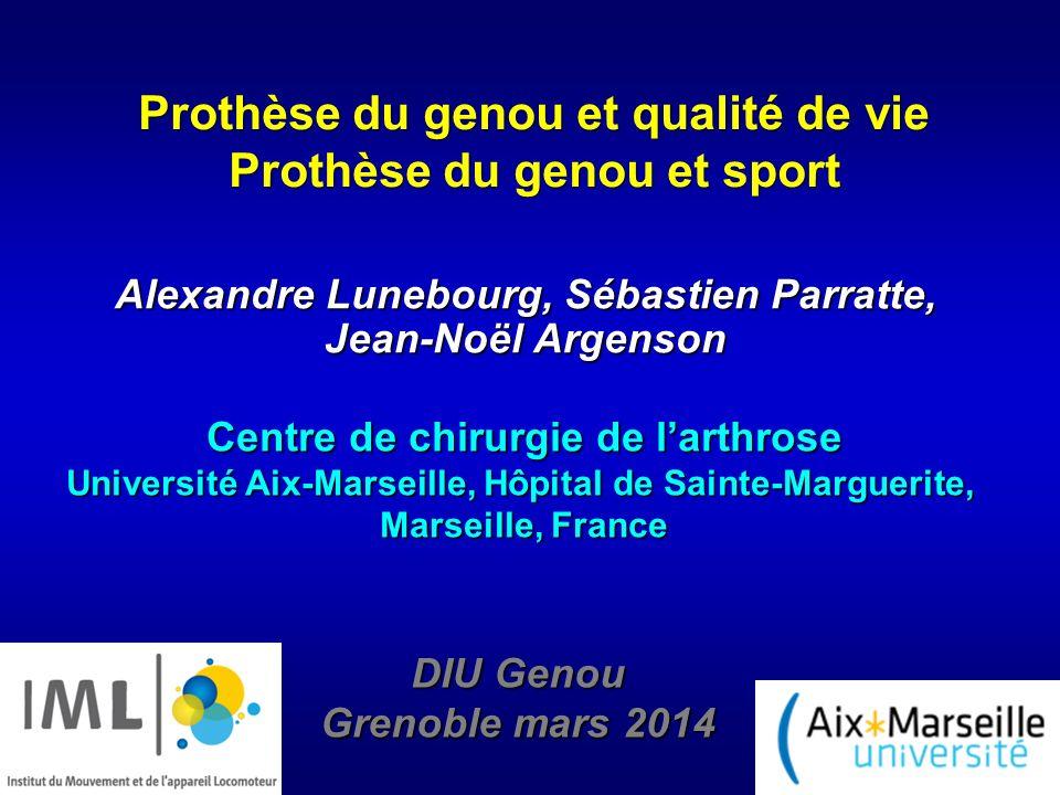 PTG de première intention aux US PTG en France en 2008 (HAS) En 2008 : 60000 En 2011 : 71000 Kurtz S et al, JBJS Am 2005 Introduction