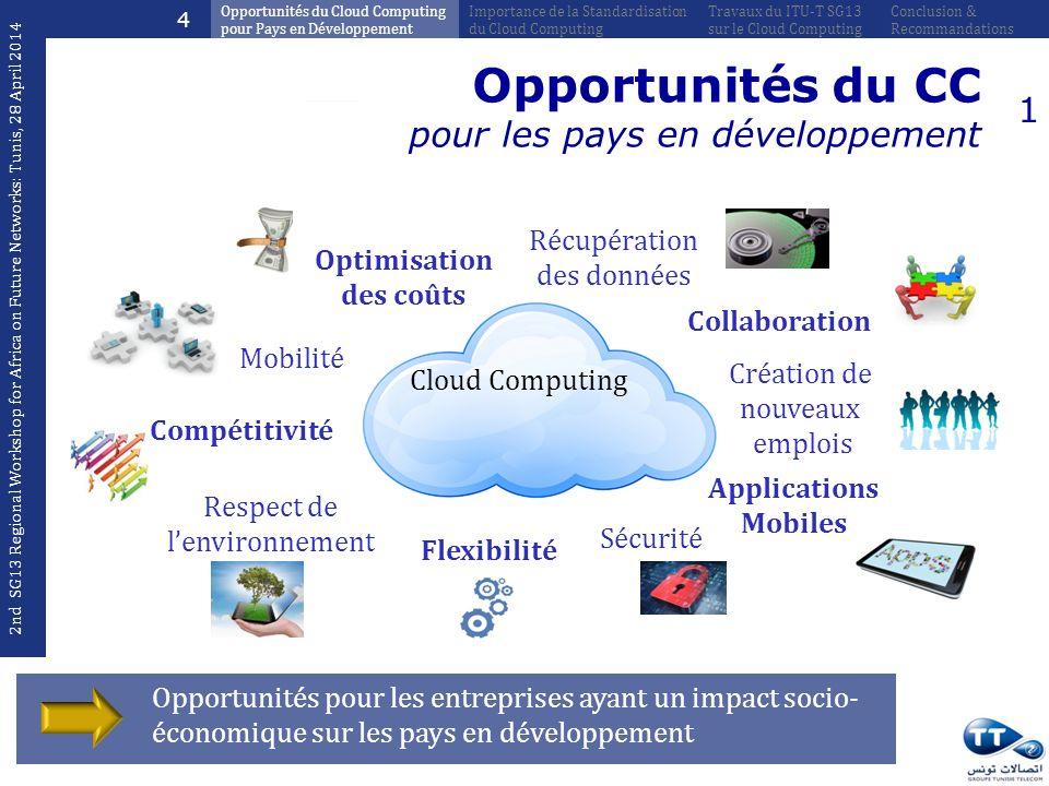 Opportunités pour les entreprises ayant un impact socio- économique sur les pays en développement Opportunités du CC pour les pays en développement Ré