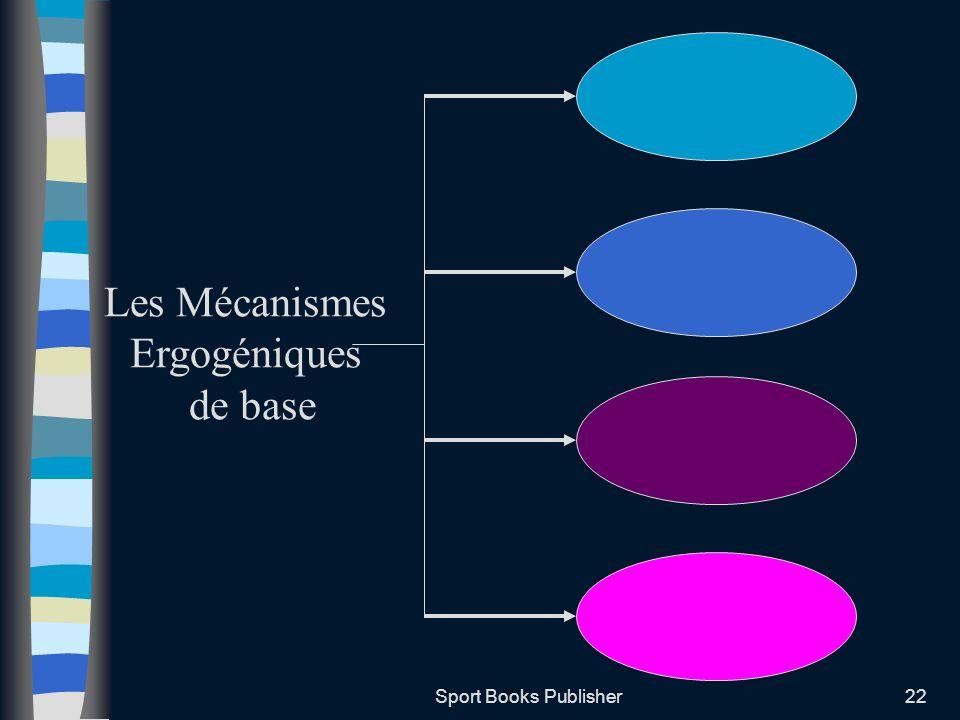 Sport Books Publisher22 Les Mécanismes Ergogéniques de base