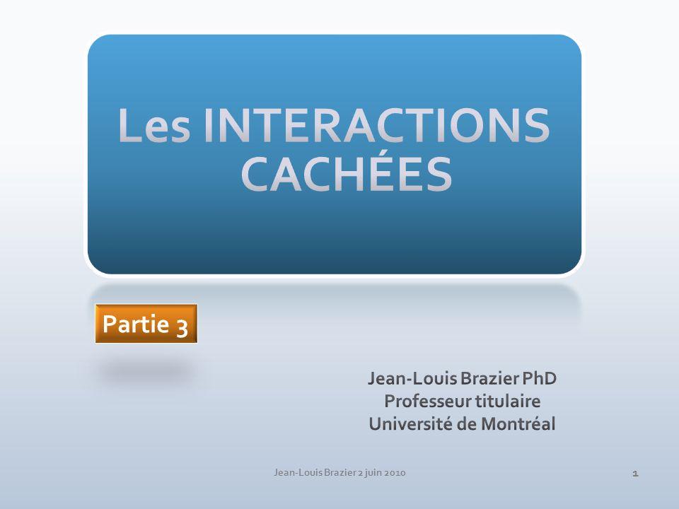 Médicament en vente libre Produits de santé naturels Drogues de rue… Jean-Louis Brazier 2 juin 2010 2