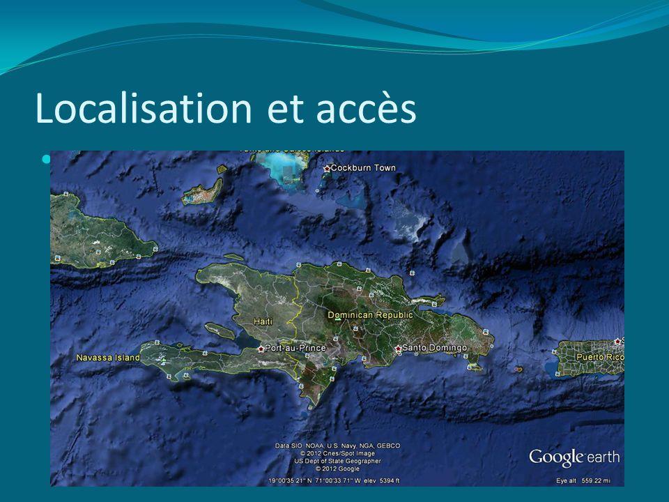 Localisation et accès NWHCM : 2003