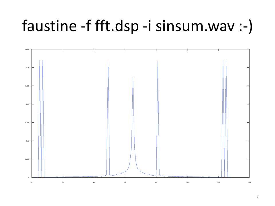 faustine -f fft.dsp -i sinsum.wav :-) 7