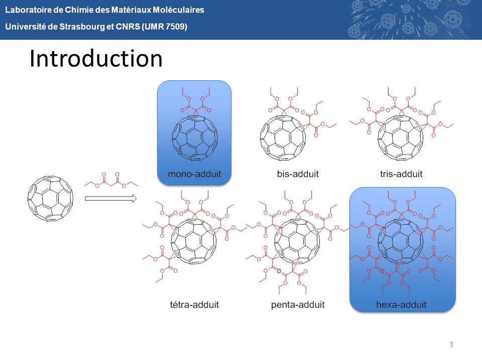 Perspectives 24 Synthons «Bis» et «Tris» Hexa-adduits [4:2] et [3:3] du fullerène Synthons «Bis» et «Tris» pluri-fonctionnels
