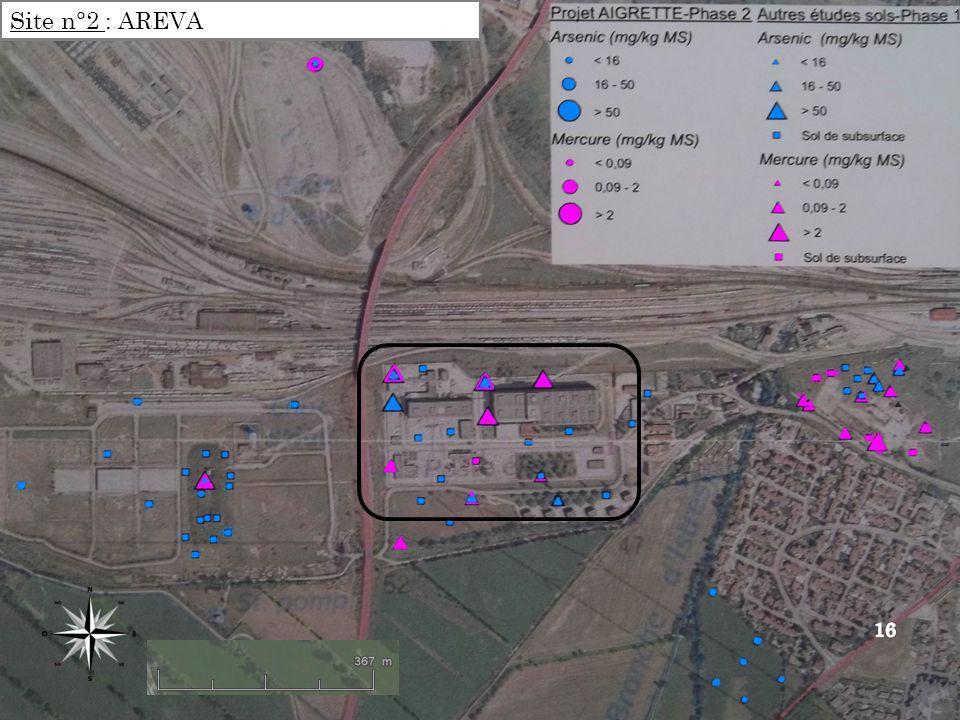 Site n°2 : AREVA