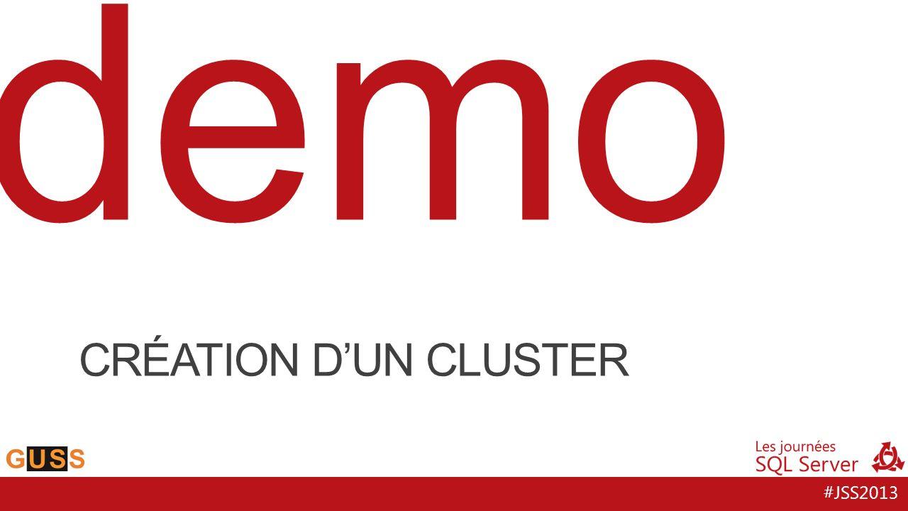 #JSS2013 demo CRÉATION DUN CLUSTER