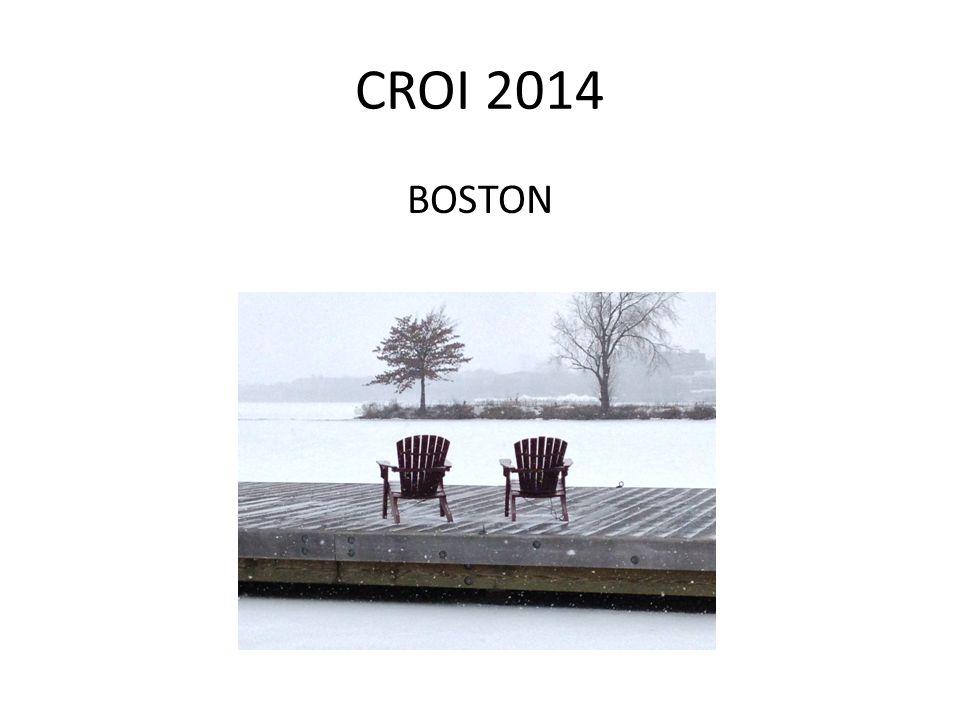 CROI 2014 BOSTON