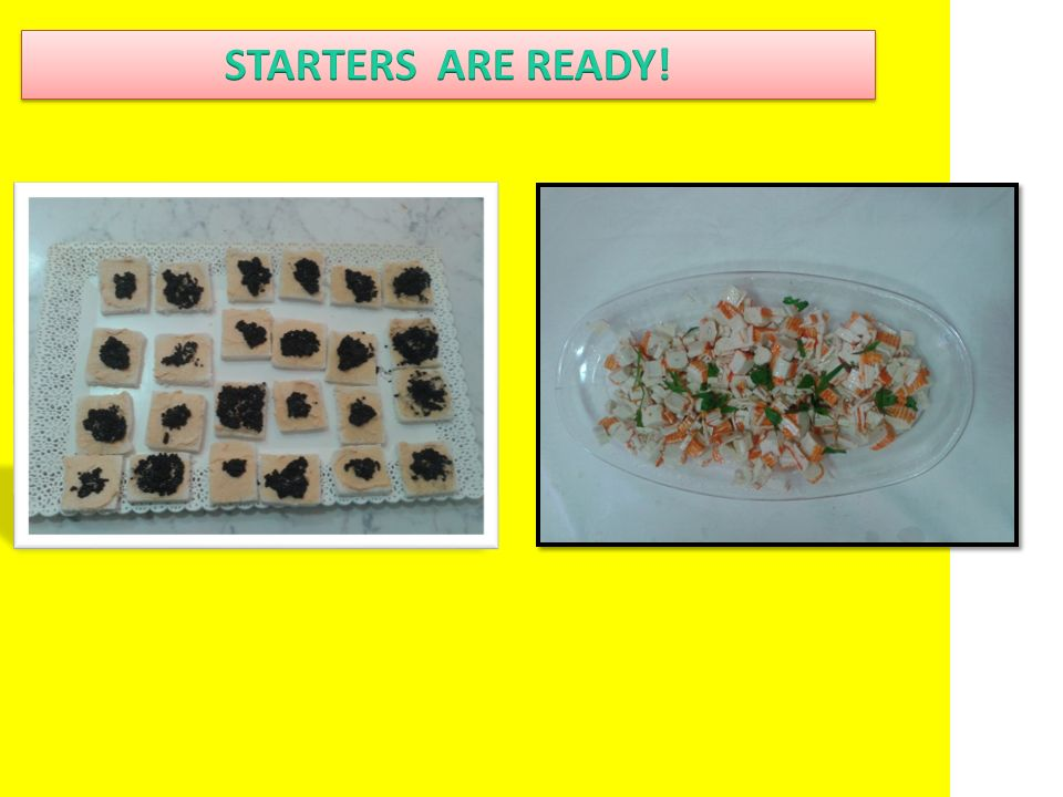 Remove the card around the surimi put them in a container and then cut into many small cubes. Add olive oil and lemon