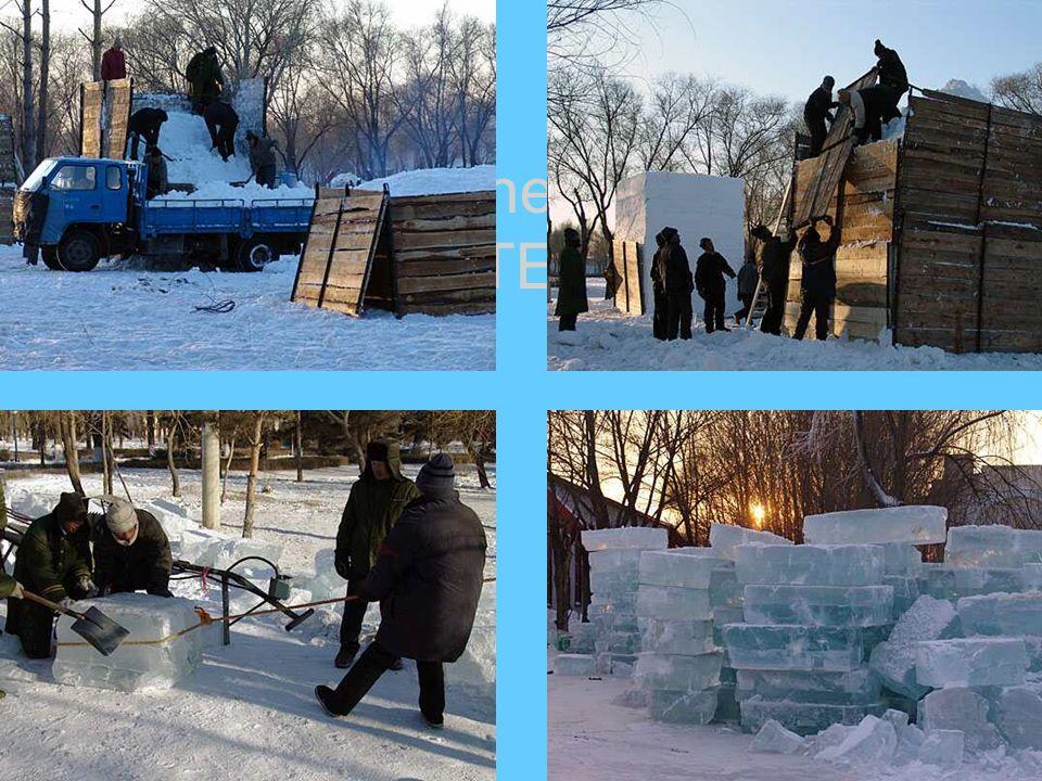 Le Festival de la neige est un nom pour l art, tandis que le festival de glace est un miroir de l architecture.