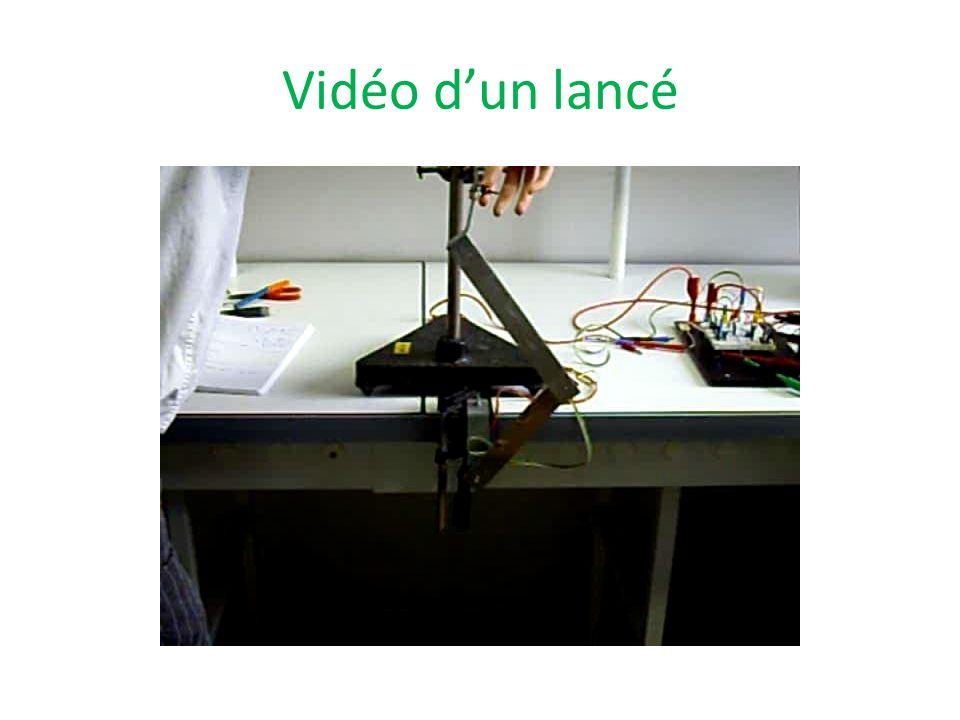 Vidéo dun lancé