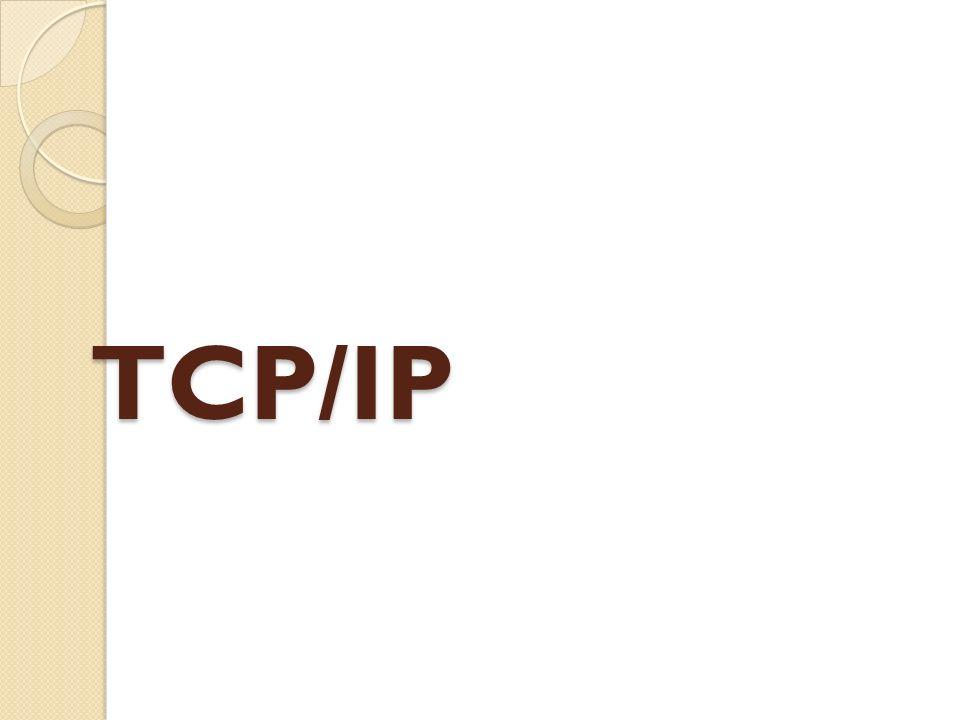 Historique de TCP/IP .