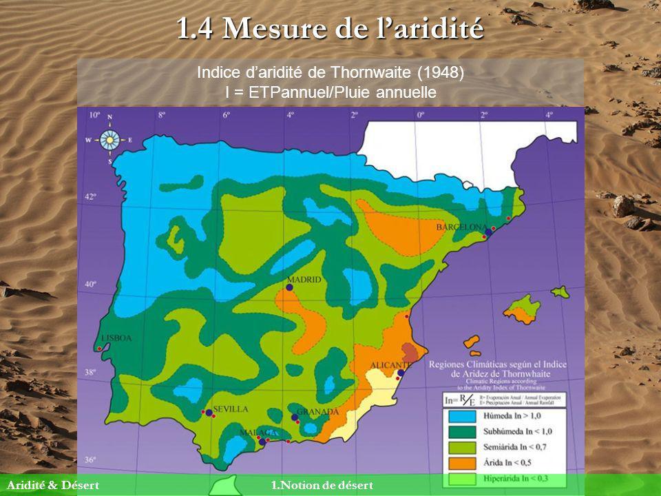 2.4 Les déserts décran orographique Pourquoi ?Le relief intercepte lair humide Equateur T.
