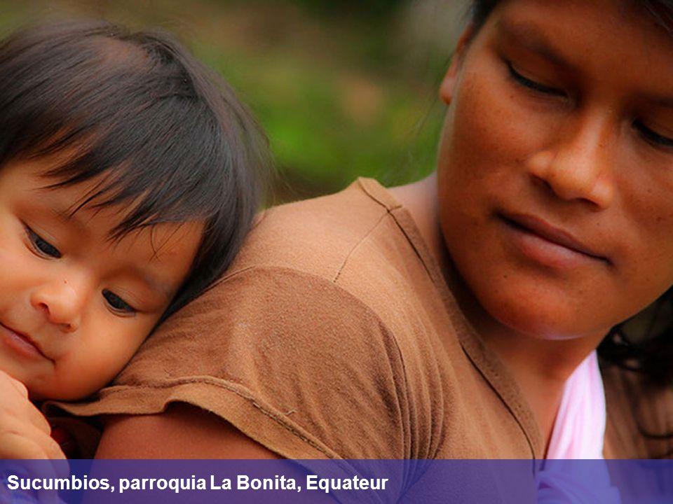 Sucumbios, parroquia La Bonita, Equateur