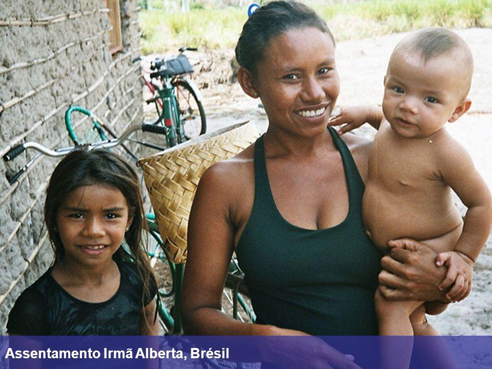 Assentamento Irmã Alberta, Brésil