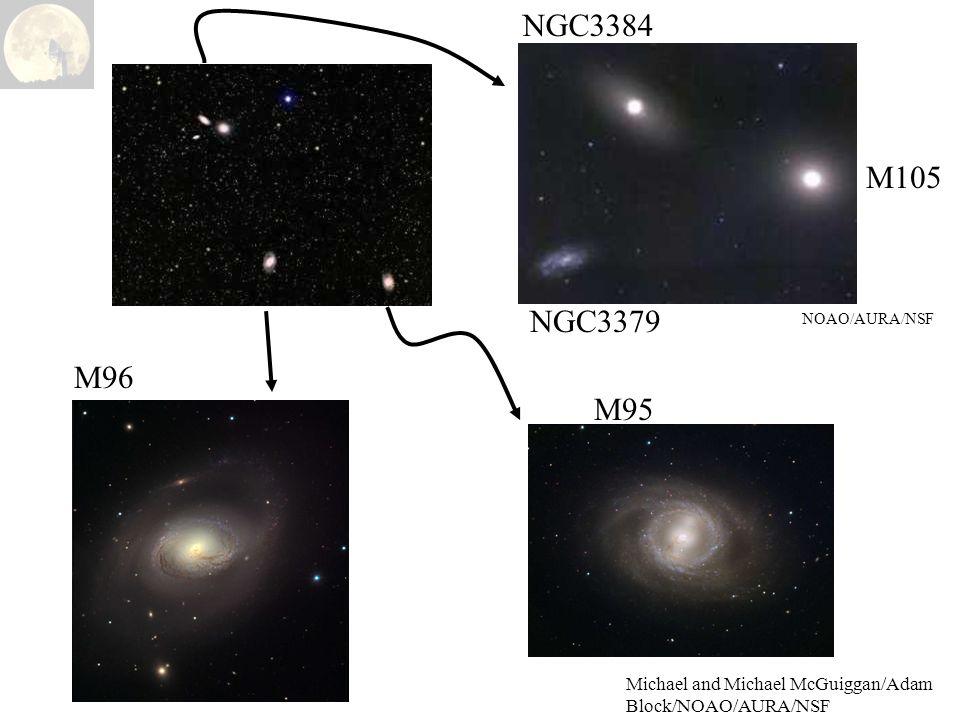 Michael and Michael McGuiggan/Adam Block/NOAO/AURA/NSF NOAO/AURA/NSF M105 NGC3384 NGC3379 M96 M95