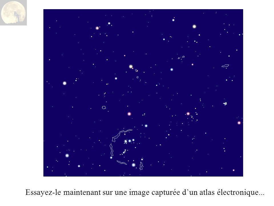 Essayez-le maintenant sur une image capturée dun atlas électronique...