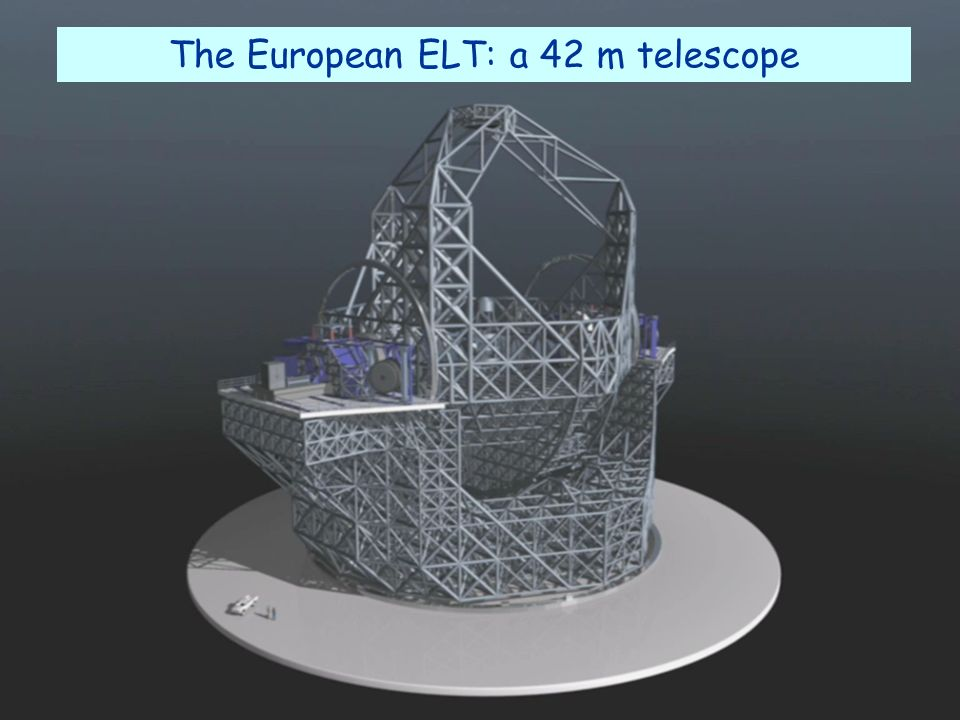 The European ELT: a 42 m telescope