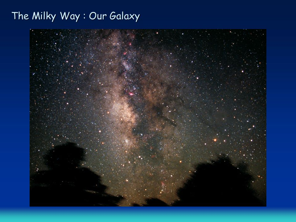The Milky Way : Our Galaxy