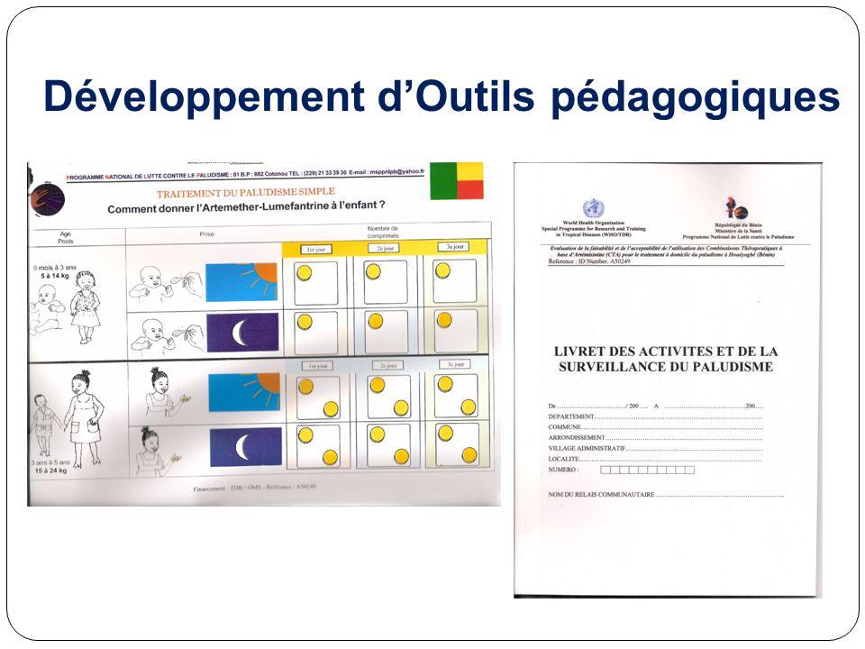 Développement dOutils pédagogiques