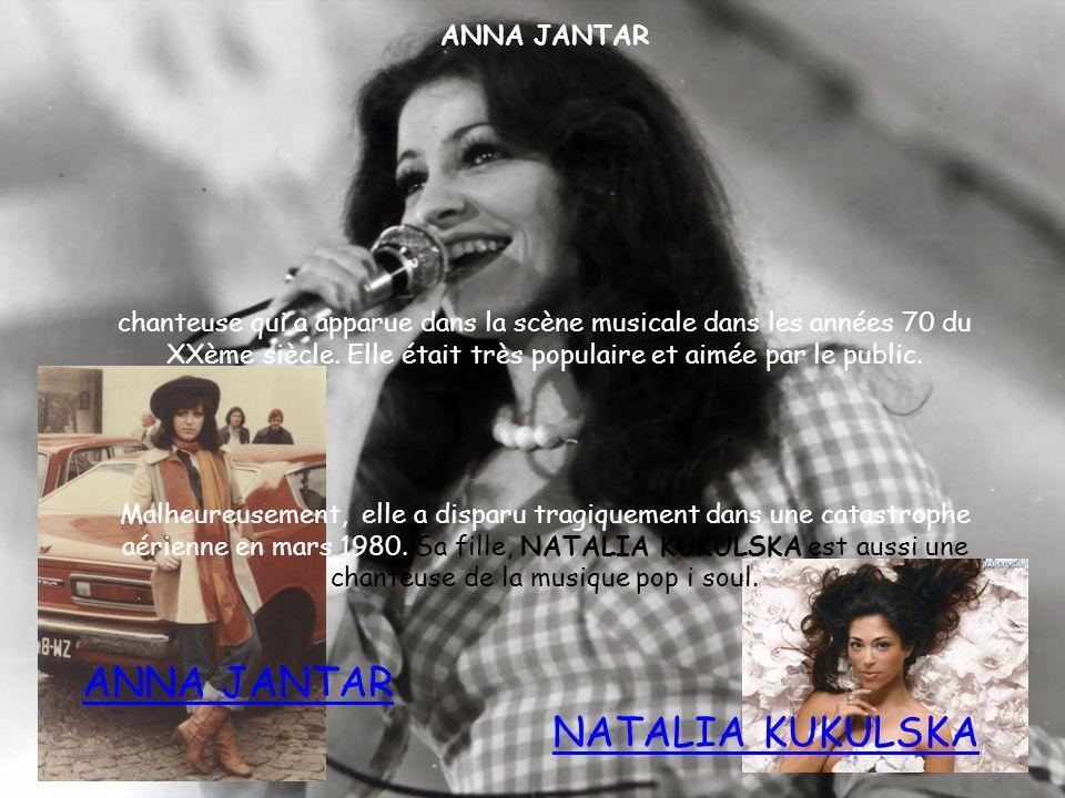 ANNA JANTAR chanteuse qui a apparue dans la scène musicale dans les années 70 du XXème siècle. Elle était très populaire et aimée par le public. Malhe