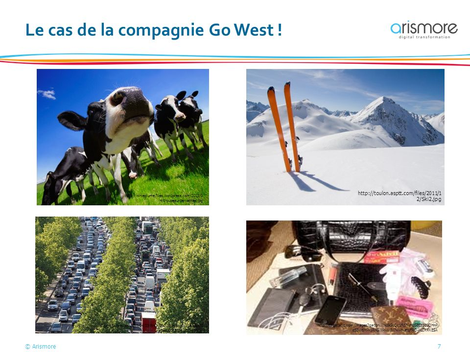 © Arismore7 Le cas de la compagnie Go West ! http://ninieplume.files.wordpress.com/2013/0 4/troupeau-de-vaches.jpg http://toulon.asptt.com/files/2011/