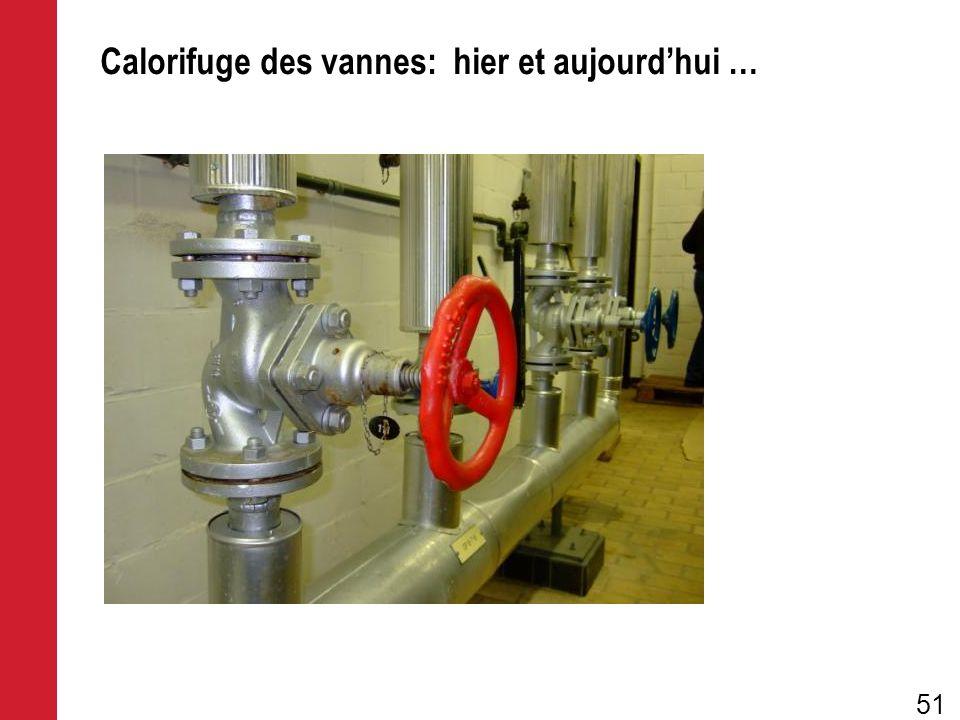Calorifuge des vannes: hier et aujourdhui … 51