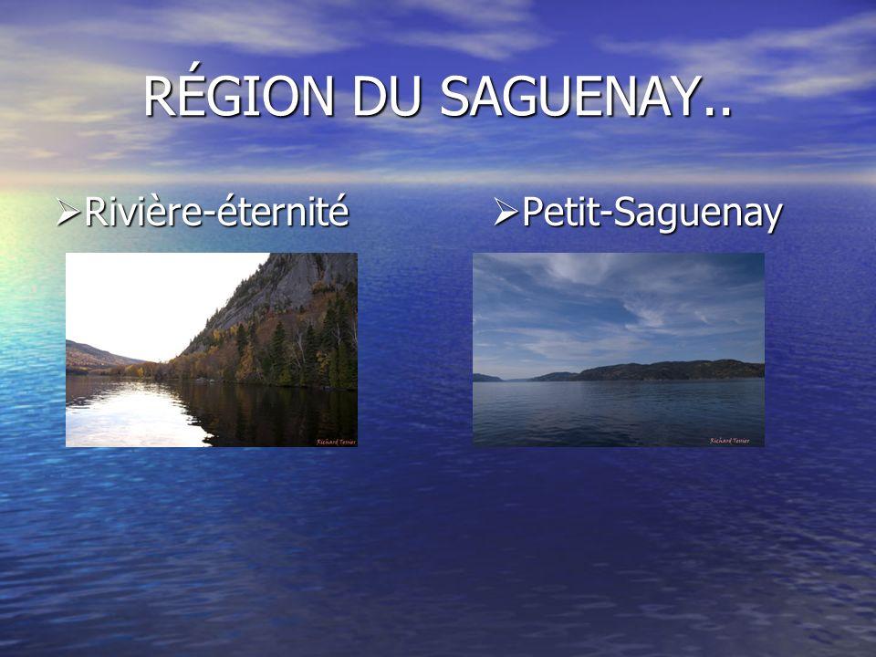 Rivière-éternité Petit-Saguenay Rivière-éternité Petit-Saguenay