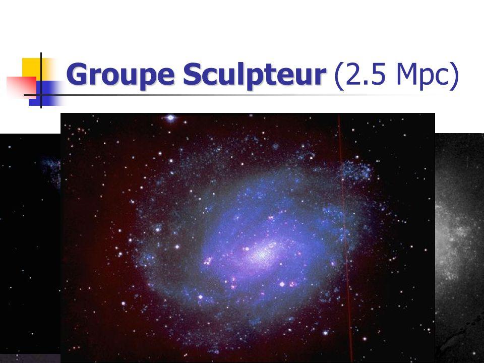 Groupe Sculpteur Groupe Sculpteur (2.5 Mpc)
