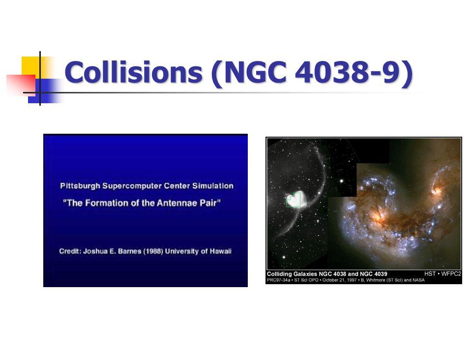 Collisions (NGC 4038-9)