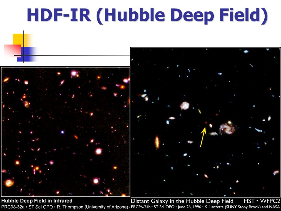 HDF-IR (Hubble Deep Field)