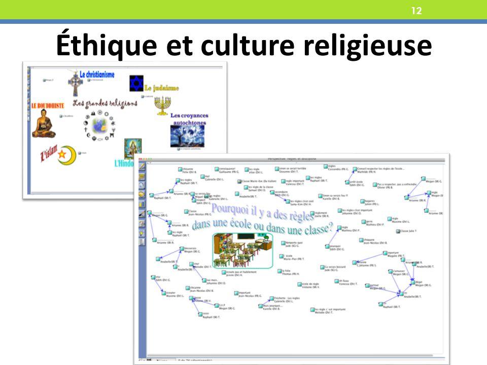 12 Éthique et culture religieuse