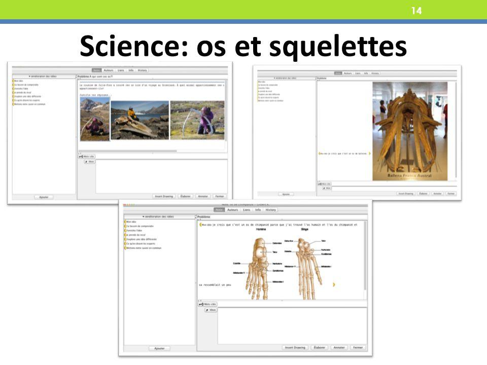 14 Science: os et squelettes