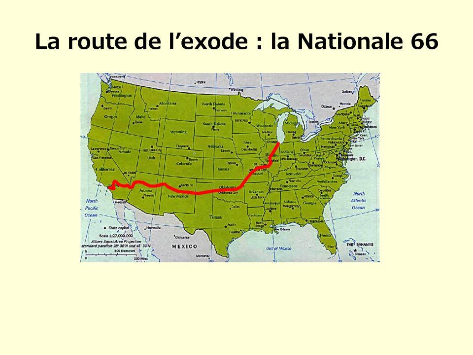 La route de lexode : la Nationale 66