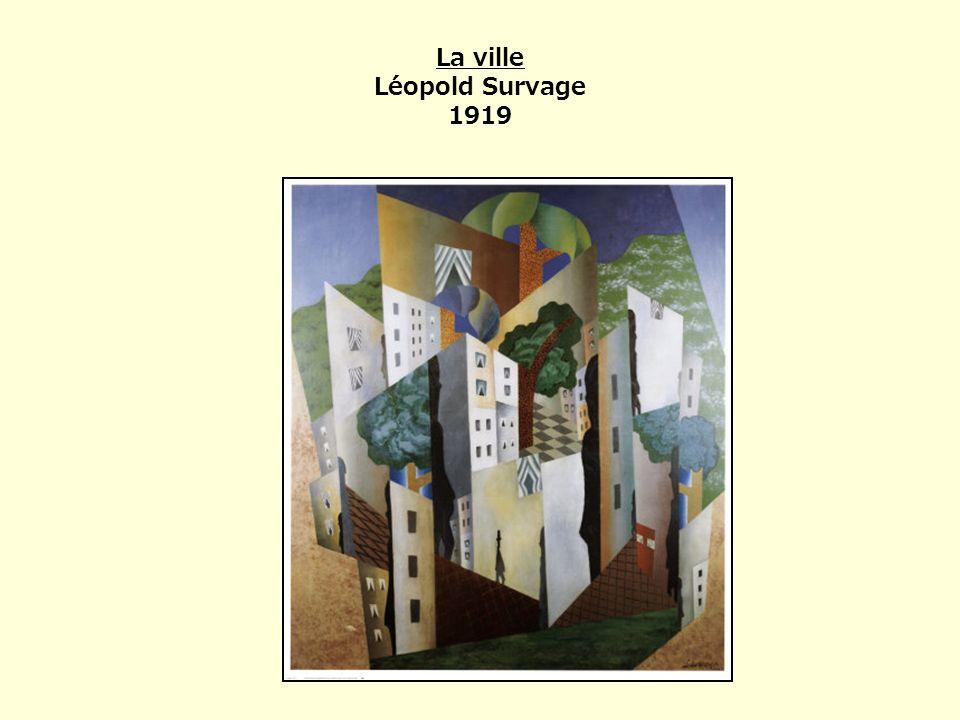La ville Léopold Survage 1919