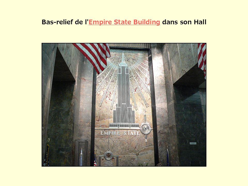 Bas-relief de l'Empire State Building dans son HallEmpire State Building