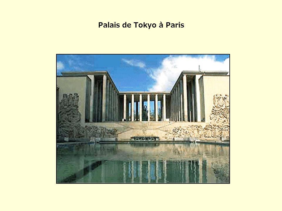 Palais de Tokyo à Paris