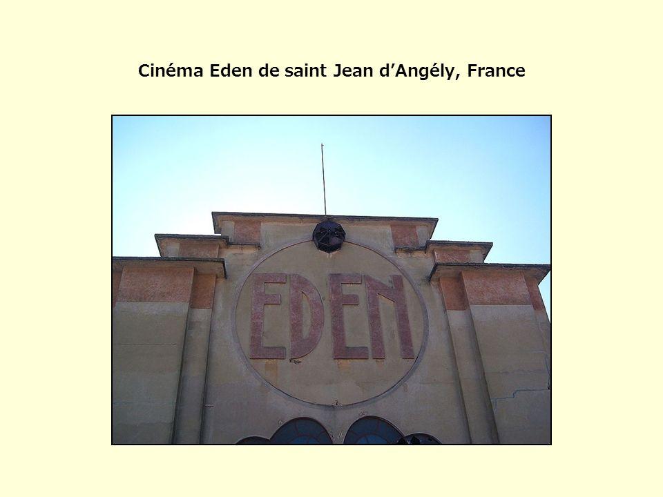 Cinéma Eden de saint Jean dAngély, France