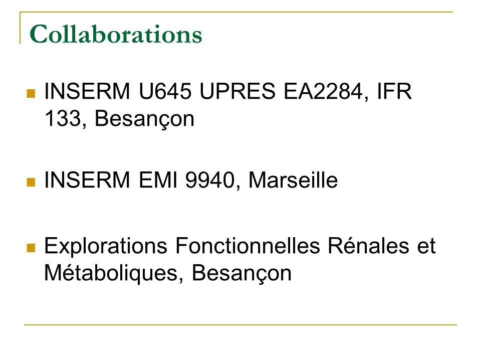 Autres projets Angiogénèse et SpA: VEGF SpA vs T (Clin Exp Immunol, 2003) Tolérance orale extraits bactériens E.Coli (hsp 60) induction population cel