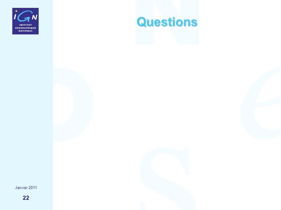 22 Questions Janvier 2011