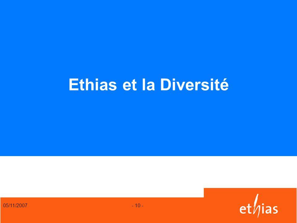 05/11/2007 - 10 - Ethias et la Diversité