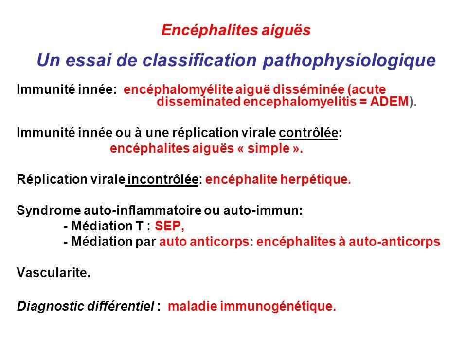 HSV-1 IFN- /βR (IFN- R) STAT-1 TYK-2 UNC-93B TLR3 IRF-3 TRIF TBK1 NEMO NF-κB IFN- /β (and - ) TRAF3 Cinq mutations liées à la voie TLR Unc93B Science 2006; 314:308-312 TLR3 Science 2007; 317: 522-527; J Exp Med 2011; 208:2083-98 TRAF3 Immunity 2010; 33: 400-11 TRIFJ Clin Invest 2011; 121:4889-902.