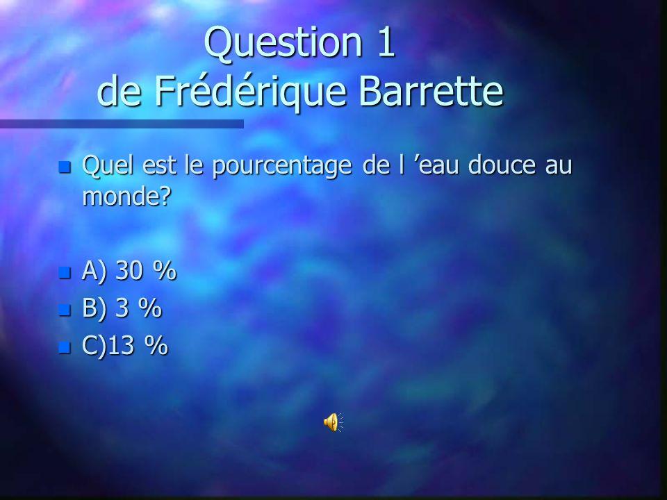Question 21 de Danick Lecompte-Scraire n De quel pays est originaire le poisson rouge.
