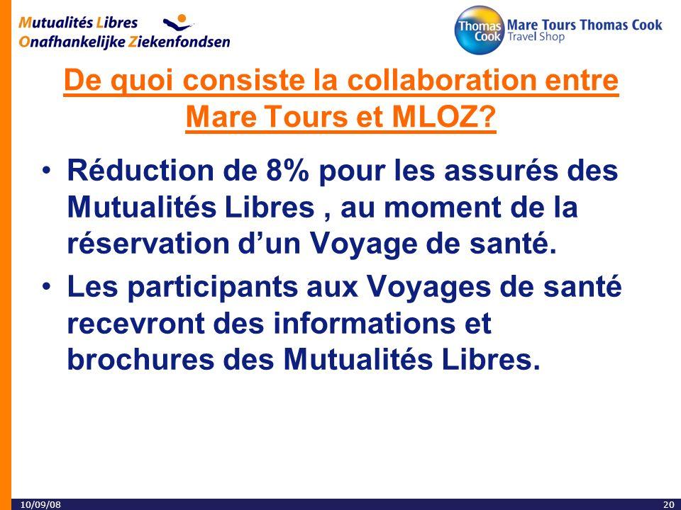 10/09/0820 De quoi consiste la collaboration entre Mare Tours et MLOZ.