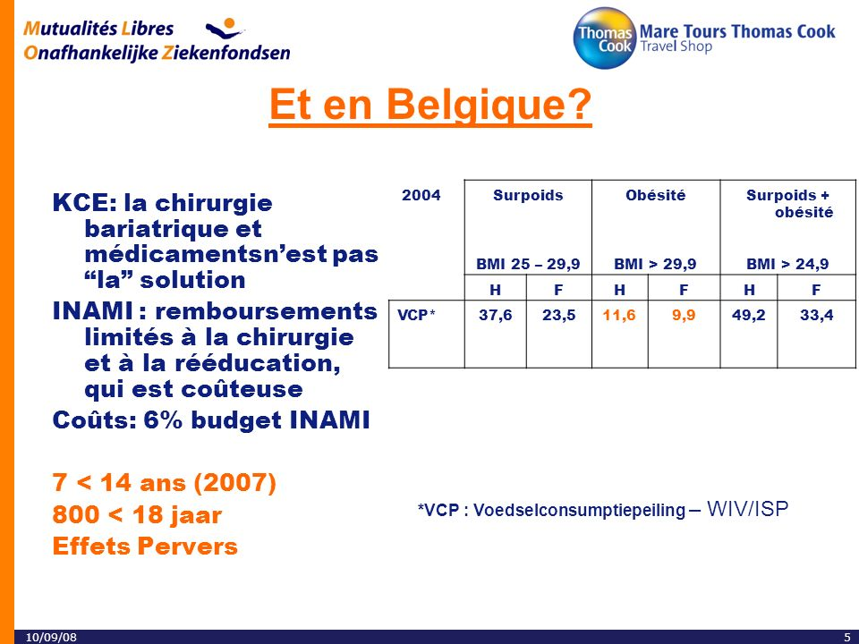 10/09/085 Et en Belgique.