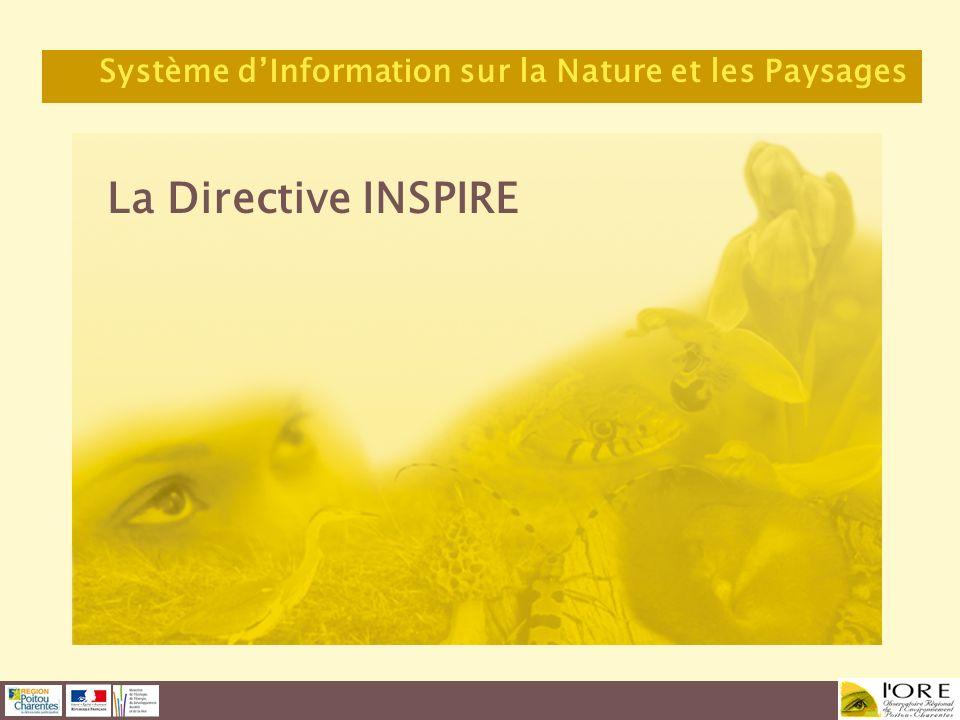 La Directive INSPIRE Système dInformation sur la Nature et les Paysages